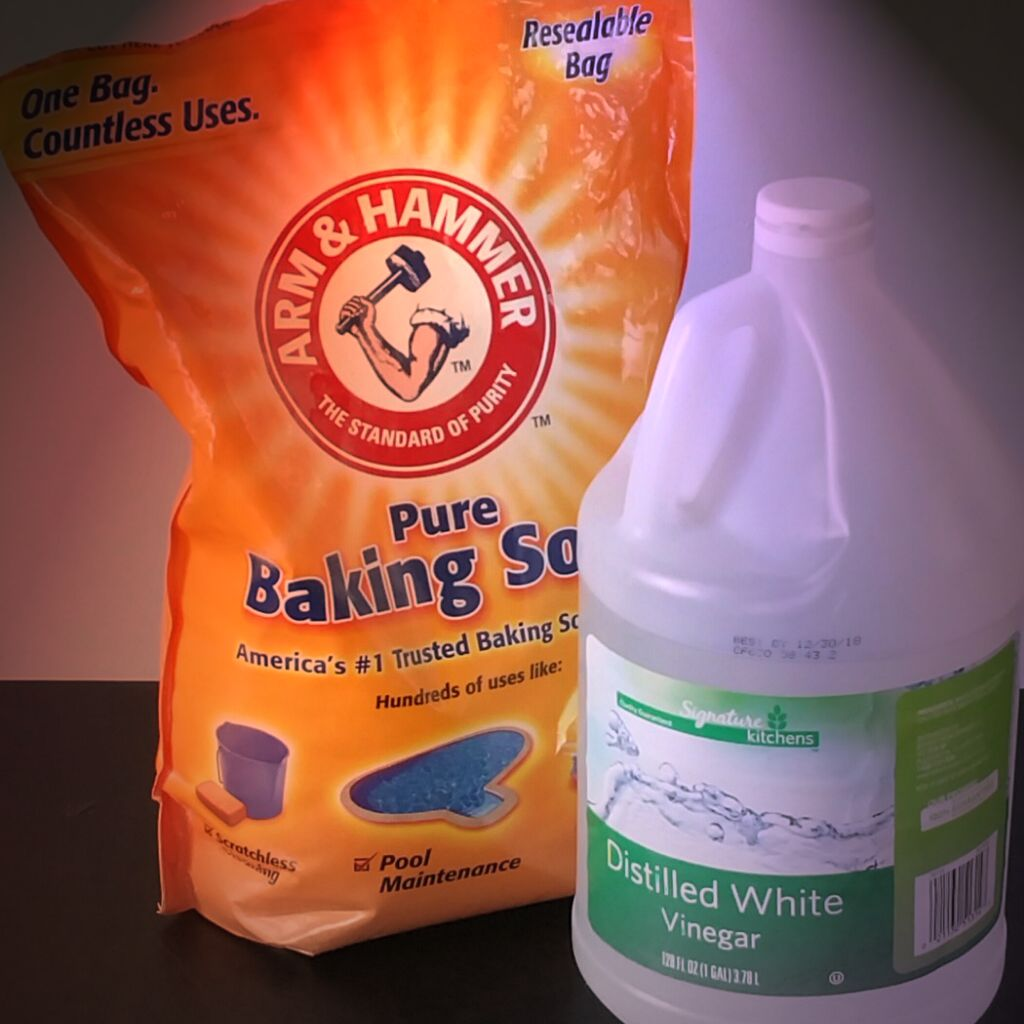 6. Clean Drain with Baking Soda and Vinegar: The chemical reaction of baking soda and Vinegar will unclog the drain and remove bad odor. Ingredients: Baking Soda; Apple Cider Vinegar; Preparation Time: 5 mins. Procedure: Take bucket full of boiling hot water and pour down the drain. Put 1/2 cup of baking soda and allow it to sit for few minutes.