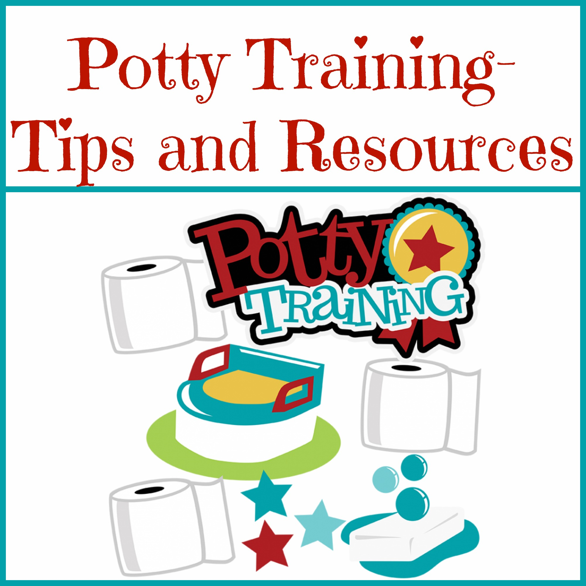 Potty Training- Tips And Resources