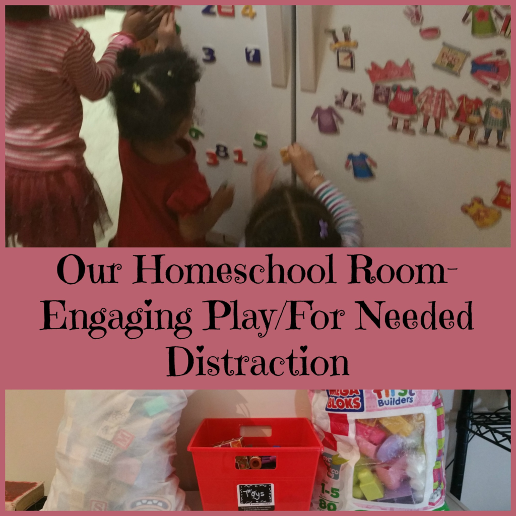 Homeschool Room Ideas Small Spaces: Our Homeschool Room- Engaging Play/ For Needed Distraction